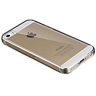Недорогие Кейсы для iPhone 8-Кейс для Назначение Apple iPhone X iPhone 8 iPhone 8 Plus Кейс для iPhone 5 iPhone 7 Plus iPhone 7 Ультратонкий Прозрачный Чехол Сплошной