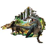 povoljno -Životinje Zid Naljepnice 3D zidne naljepnice Dekorativne zidne naljepnice, PVC Početna Dekoracija Zid preslikača Zid
