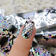 1roll Nail Art matrica 3D-s körömmatricák smink Kozmetika Nail Art Design