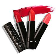preiswerte -Lippenstifte Matt / Mineral Cream Feuchtigkeit / Lang anhaltend / Wasserdicht / Natürlich Aktmalerei 1 FOCALLURE
