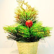 abordables Artículos para el Hogar-Mini navidad adornos de árbol alces
