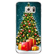 Voor samsung galaxy s7 s7 rand kerstcadeaus tpu soft case cover s6 edge plus