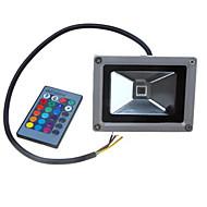 voordelige LED-schijnwerperlampen-LED-schijnwerperlampen Draagbaar Etäohjattu Dimbaar Gemakkelijk te installeren Waterbestendig Op afstand bedienbaar Buitenverlichting RGB