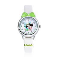 KEZZI Дети Модные часы Наручные часы Повседневные часы Кварцевый Японский кварц Повседневные часы PU Группа Мультфильмы ПовседневнаяБелый