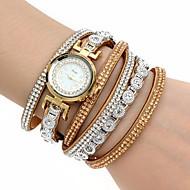 Γυναικεία Μοδάτο Ρολόι Ρολόι Καρπού Βραχιόλι Ρολόι Προσομοίωσης Ρόμβος Ρολόι Χαλαζίας απομίμηση διαμαντιών Πολύχρωμα PU ΜπάνταΜποέμ