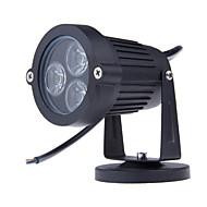3leds는 잔디 램프 야외 조명 IP65 방수 LED 정원 벽 마당 경로 연못 홍수 스포트 라이트를 주도 3W