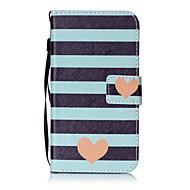 Χαμηλού Κόστους Θήκες κινητών τηλεφώνων-tok Για LG K8 LG LG K10 LG K7 Θήκη καρτών Πορτοφόλι Ανοιγόμενη Με σχέδια Πλήρης Θήκη Καρδιά Σκληρή PU δέρμα για LG X Screen LG X Power LG