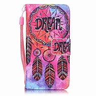dream catcher painting pu phone case voor apple itouch 5 6 ipod cases / covers