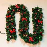 abordables Decoraciones de Celebraciones y Fiestas-Feliz Navidad de caa de Ratn navidad verde wreathoriginal de navidad guirnalda partido decoracin de Ratn pvc ornamento