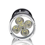 LED손전등 LED 3000 lm 3 모드 LED 방수 슈퍼 라이트 높은 전력 밝기조절가능 용 캠핑/등산/동굴탐험 일상용 사이클링 사냥 멀티기능 야외 낚시 여행 배터리 불포함