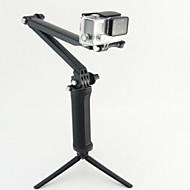お買い得  スポーツカメラ & GoPro 用アクセサリー-Telescopic Pole 一脚 三脚 取付方法 多機能 ために アクションカメラ Gopro 5/4/3/3+/2/1 ローライアクションカム420 ローライアクションカム410 潜水 軍隊 プラスチック