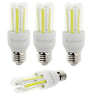 E26/E27 LED-kolbepærer T 6 leds COB Dekorativ Kold hvid 600lm 6000K Vekselstrøm 85-265V