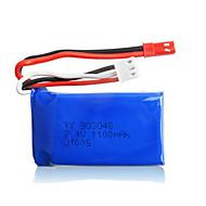 2pcs / pack WLtoys 7.4V 1100mAh lipo JST batteria per K929 A949 A959 a969 a979 batterie per auto originale ad alta velocità