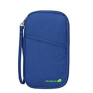 お買い得  トラベル小物-旅行用ウォレット パスポート&IDホルダー 防水 携帯用 防塵 小物収納用バッグ のために クロス ナイロン 25.5*14.5*4
