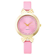 povoljno -Xu™ Dame ' Modni sat Narukvica Pogledajte Kvarc PU Grupa Vintage Neformalno Crna Bijela Plava Smeđa Pink Obala Crn Braon Plava Pink