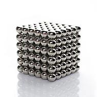 linlinzz gyermekek diy Buckyball rozsdamentes acél golyó acél mágneses szobrok gyöngyök gyógyító játékok - 5mm (ezüst)
