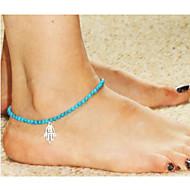 Недорогие $0.99 Модное ювелирное украшение-Ножной браслет - европейский, Мода Синий светодиод Рука Фатимы Назначение Свадьба / Для вечеринок / Повседневные / Жен.