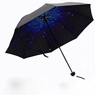 Kék Összecsukható esernyő Napernyő Plastic Babakocsi