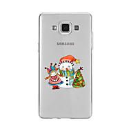 Для С узором Кейс для Задняя крышка Кейс для Новогодняя тематика Мягкий TPU для SamsungA9(2016) / A7(2016) / A5(2016) / A3(2016) / A9 /