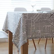Suorakulma Patterned Table Cloths , Mélange Lin/Coton materiaali Häihin Illallinen Joulu Sisustus Favor Taulukko Dceoration Häät