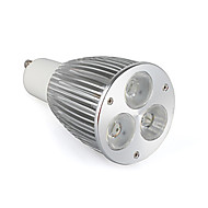GU10 Spot LED MR16 3 LED Haute Puissance 900 lm Blanc Chaud K AC 85-265 V