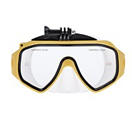 tanie Kamery sportowe i Akcesoria do GoPro-Maski do nurkowania Wodoodporne Dla Action Camera Wszystko Gopro 5 Gopro 3 Gopro 2 Gopro 3+ Gopro 1 Gopro 3/2/1 Silikonowy