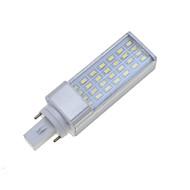 billige LED-lamper med G-sokkel-SENCART 7W 550-600 lm E26/E27 G24 LED-lamper med G-sokkel Roterbar 28 leds SMD 5630 Dæmpbar Dekorativ Varm hvid Kold hvid AC 85-265V