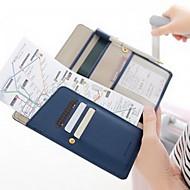 お買い得  トラベル小物-旅行用ウォレット パスポート&IDホルダー 防水 携帯用 防塵 小物収納用バッグ のために ソリッド