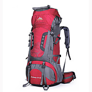 cheap Camping & Hiking Accessories-75 L Rucksack Backpacks Camping / Hiking Climbing Waterproof Wearable Breathable