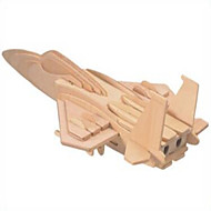 お買い得  おもちゃ & ホビーアクセサリー-ウッドパズル 戦闘機 プロフェッショナルレベル 木製 1pcs 子供用 男の子 ギフト