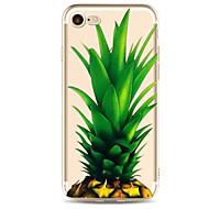 のために 超薄型 / パターン ケース バックカバー ケース フルーツ ソフト TPU のために Apple iPhone 7プラス / iPhone 7 / iPhone 6s Plus/6 Plus / iPhone 6s/6
