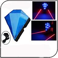 Eclairage de Vélo / bicyclette Lampe Arrière de Vélo Eclairage sécurité vélo / Ecarteur de danger Laser LED - Cyclisme Rechargeable