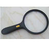 abordables Accesorios para Acampada y Senderismo-Lupas LED De Mano Magnification 5X 138mm El plastico