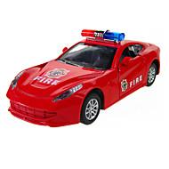 Gegoten voertuigen Speelgoedauto's Educatief speelgoed Politieauto Ambulance Brandweerwagen Noviteit Automatisch Metaallegering Metaal