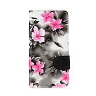 Voor Samsung Galaxy A5 (2016) a3 (2016) hoesje hoesjes bloemen pu leren mobiele telefoon holster