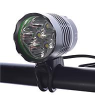 LED Lommelygter Hodelykter Sykkellykter LED Cree XM-L T6 Sykling Oppladbar Kompaktstørrelse Super Lett Mulighet for demping 18650 4000