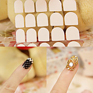 1sheet Los cepillos de uñas Nail herramienta del arte del salón del clavo Maquillaje