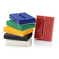 billige Arduino-tilbehør-6stk 170 slips punkt mini solderless prototype breadboard / protoboard
