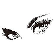 bezpłatna wysyłka hepburns naklejki ścienne naklejki oczy winylowe zooyoo8024 dekoracje ścienne 80 * 150cm wodoodporne okna domu