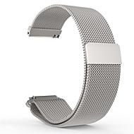 Milanese loop horlogeband roestvrij staal magnetische armband riem voor 20mm pebble keer
