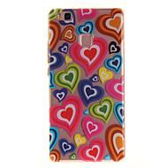 Для huawei p9 lite p8 lite tpu материал imd цвет цвета любовный шаблон телефон дело для y6ii наслаждаться 5 честь 8