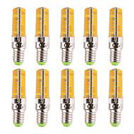 7W E14 LED-maissilamput T 80 SMD 5730 500-700 lm Lämmin valkoinen / Kylmä valkoinen Himmennettävä / Koristeltu V 10 kpl