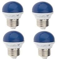 E26/E27 Διακοσμητικό Φως A60(A19) 6 SMD 2835 / lm Κόκκινο Μπλε Κίτρινο Πράσινο κ Διακοσμητικό AC 220-240 V