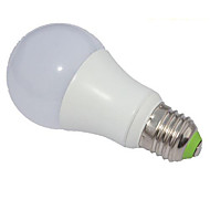 5W E26/E27 Żarówki LED kulki A60(A19) 1 Diody lED COB Przysłonięcia Zimna biel 450-500lm 6000K AC 220-240V