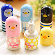 Little Animal Mini correction Fluid(Random Color) For School / Office