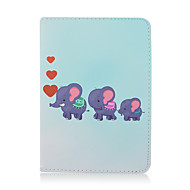 KINSTON Elephant love For Samsung Galaxy Tab 7.0 7.7 8.0 Case Cover Shockproof with Stand Sleep Magnetic Pattern Full Body Dream Catcher PU Leather