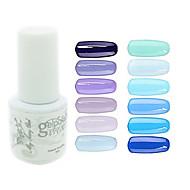 お買い得  -ネイルポリッシュUVジェル 0.005 1 UVカラージェル クラシック ロングラスティングソークオフ 日常 UVカラージェル クラシック 高品質