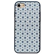 Varten Iskunkestävä Kuvio Etui Takakuori Etui Geometrinen printti Kova Silikoni varten AppleiPhone 7 Plus iPhone 7 iPhone 6s Plus/6 Plus
