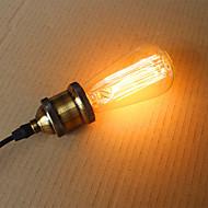 25W st58 edison incandescent bulbs 19 E27 silk vertical wire retro decorative bulbs