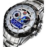 voordelige Chic horloge-Heren Sporthorloge Militair horloge Dress horloge Modieus horloge Polshorloge Kwarts Digitaal Kalender Legering Band Amulet Luxe Vintage